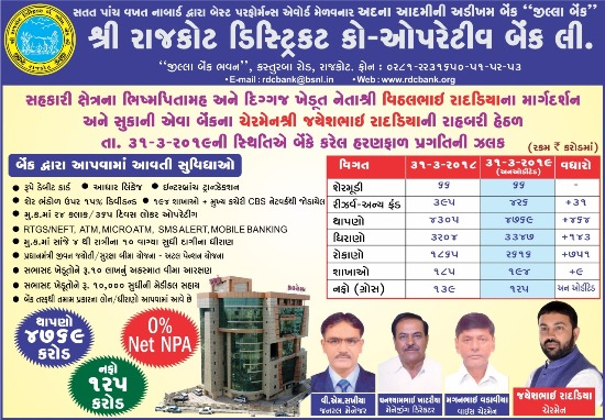 Rajkot District Co-Operative Bank Ltd.