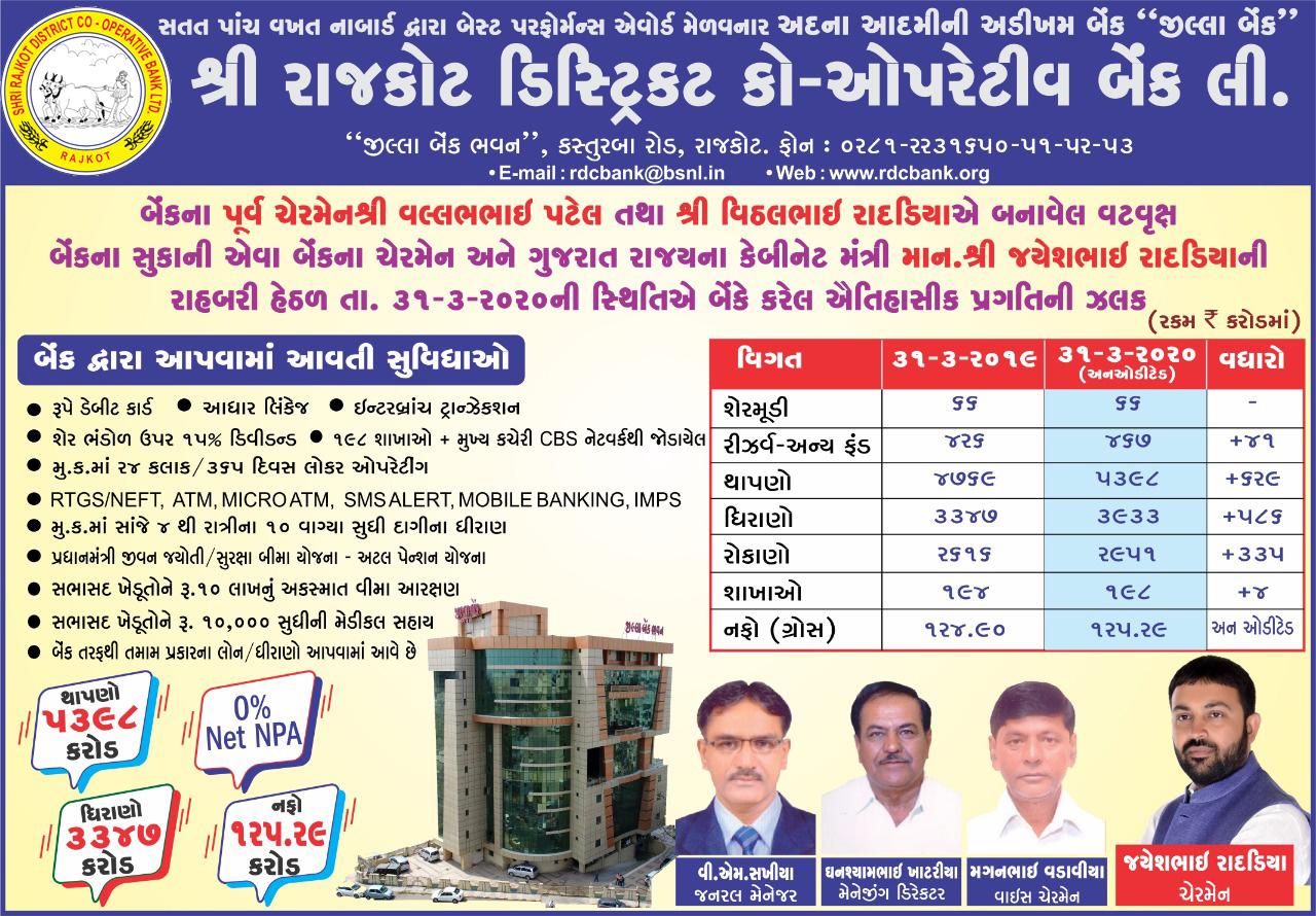 Rajkot District Co-Operative Bank Ltd.